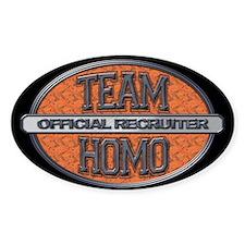 Team Homo Recuiter Decal