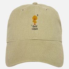 Golf Chick Baseball Baseball Cap