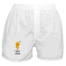 Golf Chick Boxer Shorts
