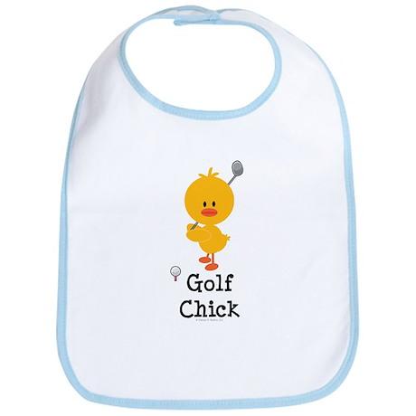Golf Chick Bib