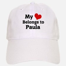 My Heart: Paula Baseball Baseball Cap