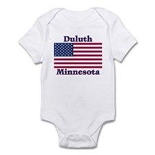 Duluth US Flag Infant Bodysuit