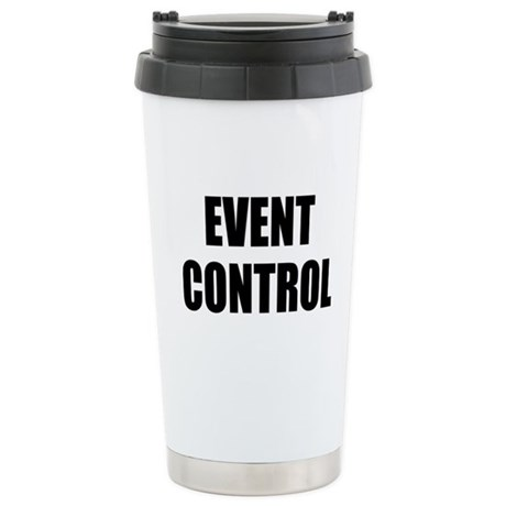 Event Control Stainless Steel Travel Mug