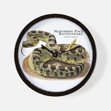 Northern Pacific Rattlesnake Wall Clock