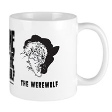 Bane of the Werewolf b/w Monster Mug