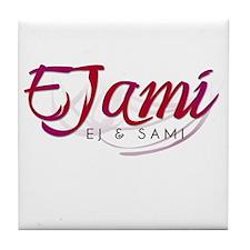 EJ & Sami Tile Coaster