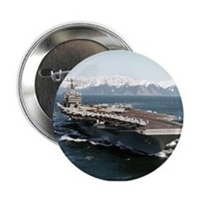 """USS Abraham Lincoln Ship's Image 2.25"""" Button"""