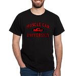 Muscle Car University Black T-Shirt