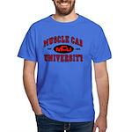 Muscle Car University T-Shirt Dark Colored