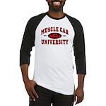 Muscle Car University Baseball Jersey