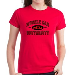 Muscle Car University Tee