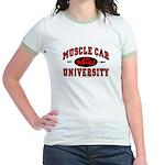 Muscle Car University Jr. Ringer T-Shirt