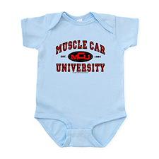 Muscle Car University Infant Bodysuit