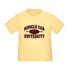 Muscle Car University Toddler T-Shirt