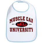 Muscle Car University Bib