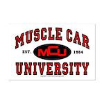 Muscle Car University Mini Poster Print