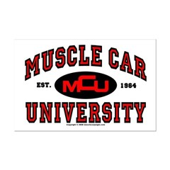 Muscle Car University Posters