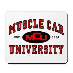 Muscle Car University Mousepad