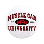 """Muscle Car University 3.5"""" Button"""