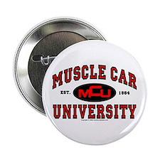 """Muscle Car University 2.25"""" Button"""