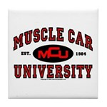 Muscle Car University Tile Coaster
