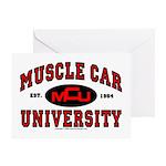 Muscle Car University Greeting Card
