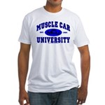 Muscle Car U Fitted T-Shirt