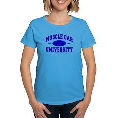 Muscle Car U Women's Dark Colored T-Shirt
