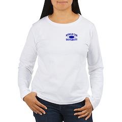 Muscle Car U Women's Long Sleeve Tee-Shirt