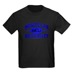 Muscle Car U Kids T-Shirt Black