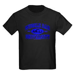 Muscle Car U Kids T-Shirt Black