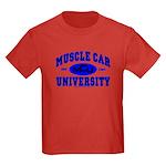 Muscle Car U Kids Dark Colored T-Shirt
