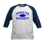 Muscle Car U Kids Baseball Jersey