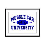 Muscle Car U Framed Panel Print