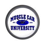 Muscle Car U Wall Clock