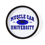 Muscle Car U Wall Clock