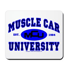 Muscle Car U Mousepad