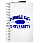 Muscle Car U Journal