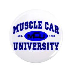 "Muscle Car U 3.5"" Button"