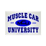 Muscle Car U Rectangle Magnet