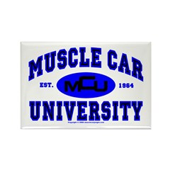 Muscle Car U Rectangle Magnet (100 pack)