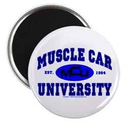 "Muscle Car U 2.25"" Magnet (10 pack)"