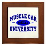 Muscle Car U Framed Tile