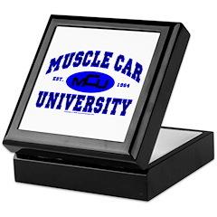 Muscle Car U Keepsake Box