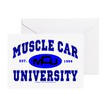 Muscle Car U Greeting Card