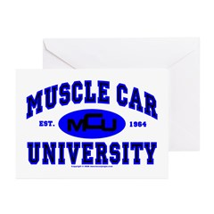Muscle Car U Greeting Cards (Pk of 10)
