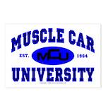 Muscle Car U Postcards (Package of 8)