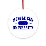 Muscle Car U Ornament (Round)