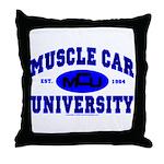 Muscle Car U Throw Pillow