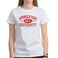 Musclecar University III Women's T-Shirt